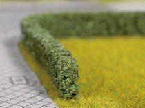 2 sövény sötétzöld 10 x 6 mm