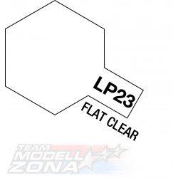 LP-23 flat clear 10ml (VE6) - matt lakk - festék