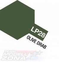 LP-28 Braunoliv matt 10ml (VE6) - festék
