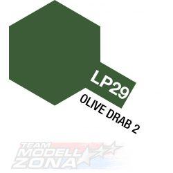 LP-29 olive drab 2 matt 10ml (VE6) - oliva barna 2 - festék
