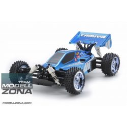 Tamiya - 1:10 RC Neo Scorcher Blue Metal. TT-02B