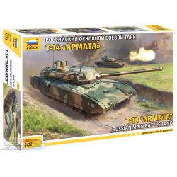 Zvezda 1:72 T-14 Armata Russian Battle Tank - makett