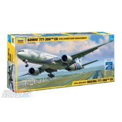 Zvezda - 1:144 Boeing 777-300ER - makett