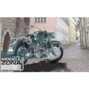Asuka - 1:24 Dt. Zündapp Motorrad KS750 - makett