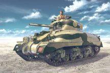 Asuka British SHERMAN 2 El Alamein 1942 (Direct Vision Type)