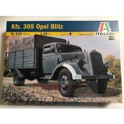Italeri Opel Blitz Deut. Truck 3t Type S - makett