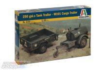 Italeri TankTrailer+M101 KargoTrailer