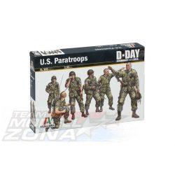 Italeri U.S. Paratroops - makett (*)