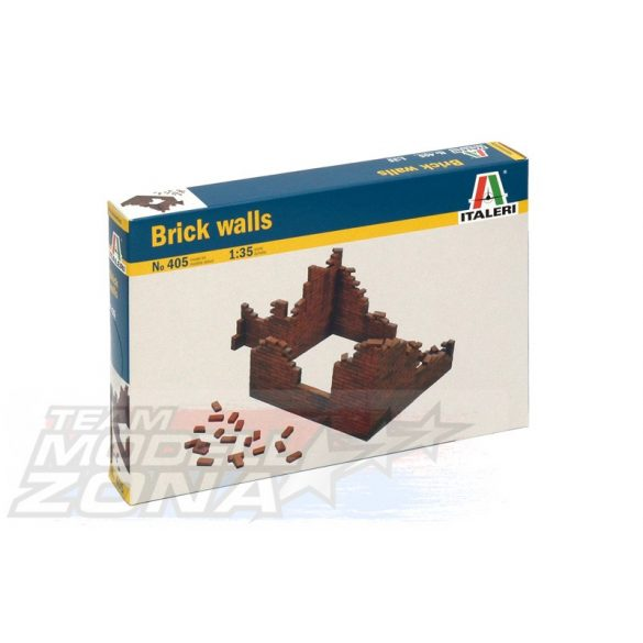 Italeri BRICK WALLS - makett