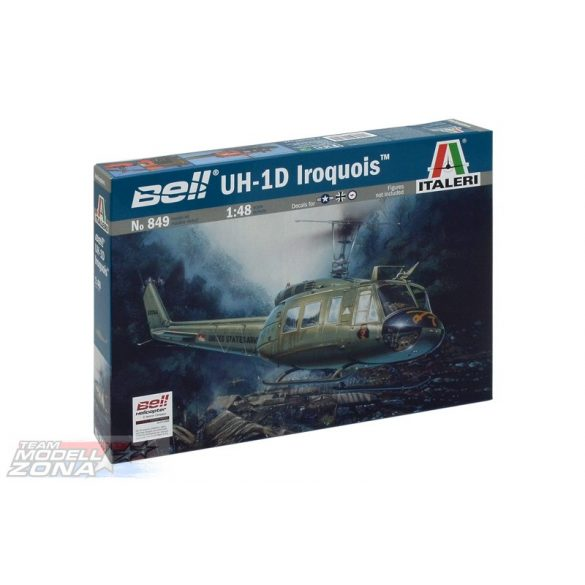 Italeri UH-1D Slick - makett