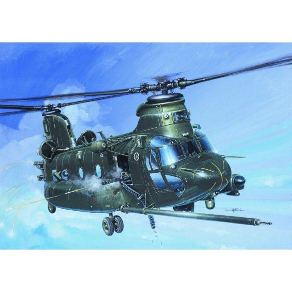 Italeri MH-47 E SOA Chinook - makett