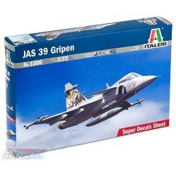 Italeri JAS 39 GRIPEN - makett
