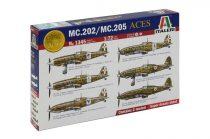 Italeri MC.202/MC.205 Italian ACES