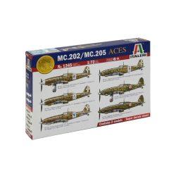 Italeri MC.202/MC.205 Italian ACES - makett