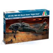Italeri UH-60A Black Hawk Night Raid - makett