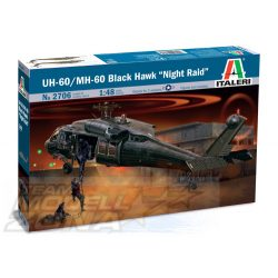 Italeri 1:48 UH-60A Black Hawk Night Raid - makett