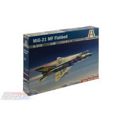 Italeri Mig-21 MF Fishbed - makett