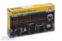 Italeri Trailer Rubber Tyres