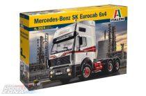 1:24 Mercedes Benz SK Eurocab 6x4