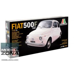Italeri - 1:12 Fiat 500F (1968 version) - makett