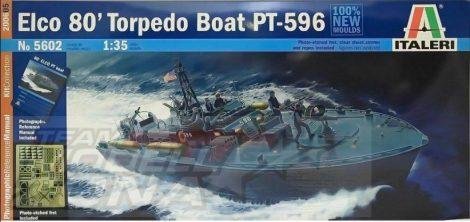 Italeri ELCO 80' PT - 596 TORPEDO BOAT