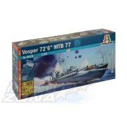 """Italeri Vosper 72'6"""" MTB 77- makett"""