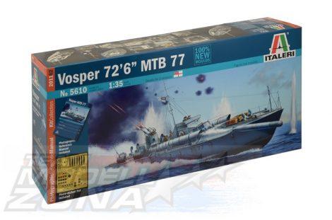 """Italeri Vosper 72'6"""" MTB 77"""