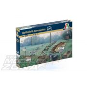 Italeri Battlefield Accessories - makett