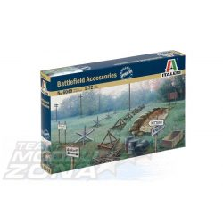 Italeri Battlefield Accessories - makett