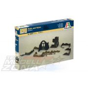 Italeri WALLS AND RUINS - makett