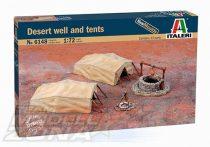 Italeri DESERT WELL & TENTS