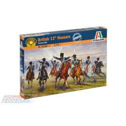 BRITISH 11th HUSSARS - makett figurák