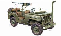 Italeri WILLYS JEEP with M2 Machine Gun