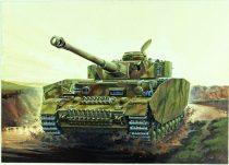 Italeri Sd. Kfz. 161/2 PzKpfw. IV Ausf. H