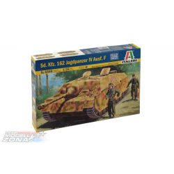 Italeri SD.KFZ.162 J.PZ IV Ausf.F L/48 late - makett