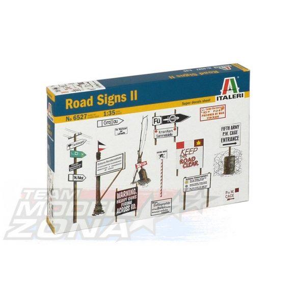 Italeri ROAD SIGNS - makett