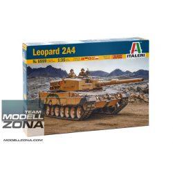 Italeri - 1:35 Leopard 2A4 műanyag makett