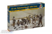 Italeri 15 cm. Nebelwerfer 41 with Crew
