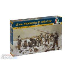 Italeri 15 cm. Nebelwerfer 41 with Crew - makett