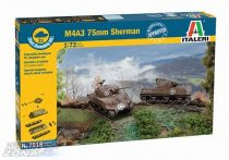 Italeri Sherman M4A3 75mm