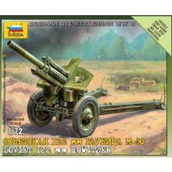 Zvezda Soviet M-30 Howitzer - makett