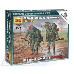 Zvezda German Medical Personnel 41-43 - makett