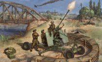 Zvezda British Bofors 40mm Mk-2 AA-Gun