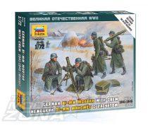 Zvezda German 80 mm Mortar w/Crew