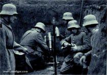 Zvezda German 7.58 cm mortar w/crew