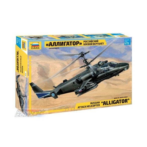 Zvezda Kamov Ka-52 Alligator - makett