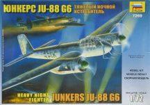 Zvezda Junkers Ju-88G6 German bomber