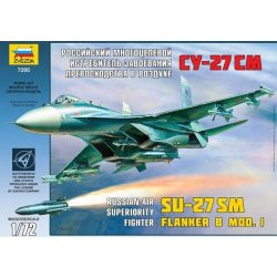 Zvezda SU-27SM - makett