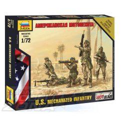 Zvezda U.S. Motorized Infantry - makett