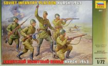 Zvezda Soviet Infantry WWII